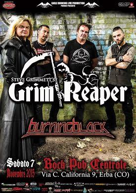 "Grim Reaper - ""Tour 2015"""