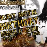 10 agosto 1966 - nasce Hansi Kürsch