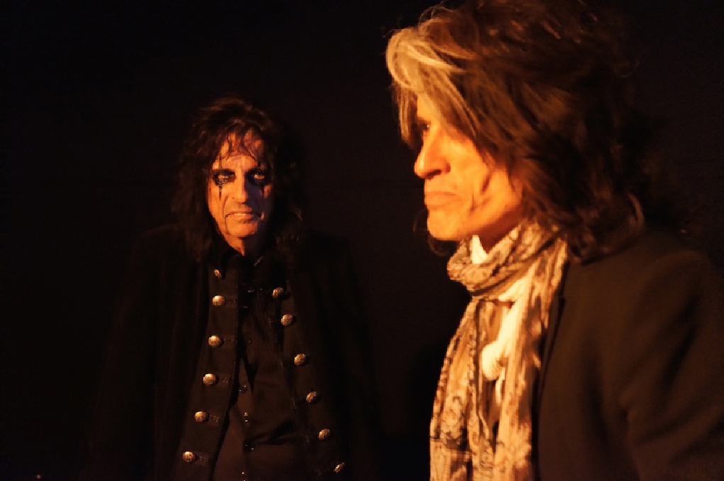 Hollywood Vampires: Alice Cooper e Joe Perry