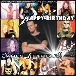 3 agosto 1963 - nasce James Hetfield