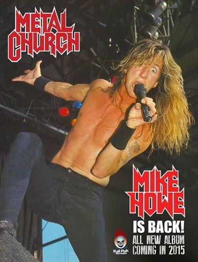 Mike Howe Torna con i Metal Church