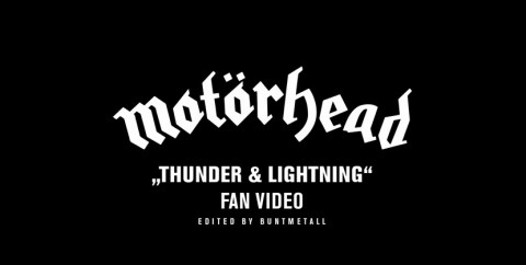 "Motorhead - ""Thunder & Lightning"" Fan Video"