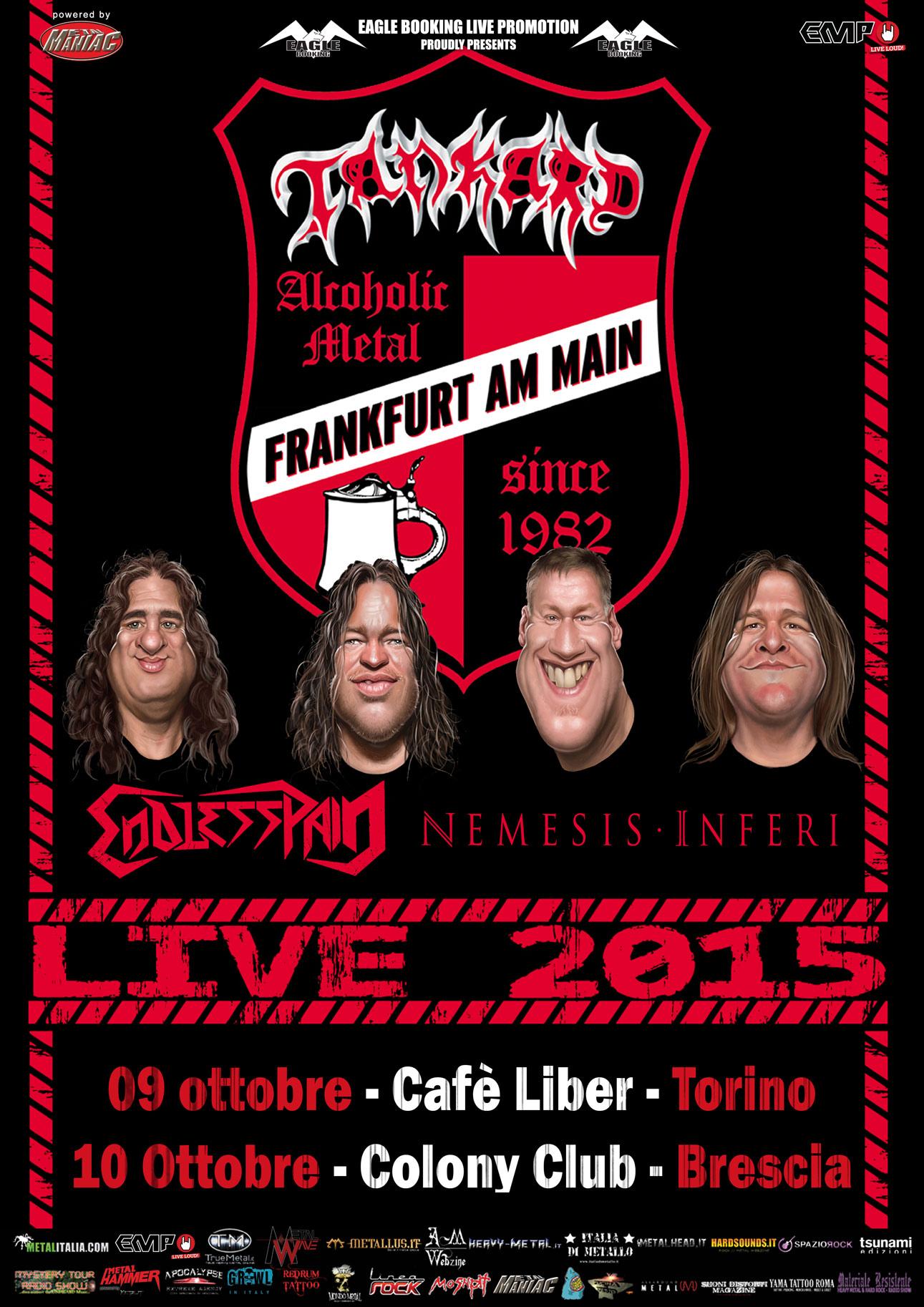 Nemesis Inferi + Tankard Live Tour 2015
