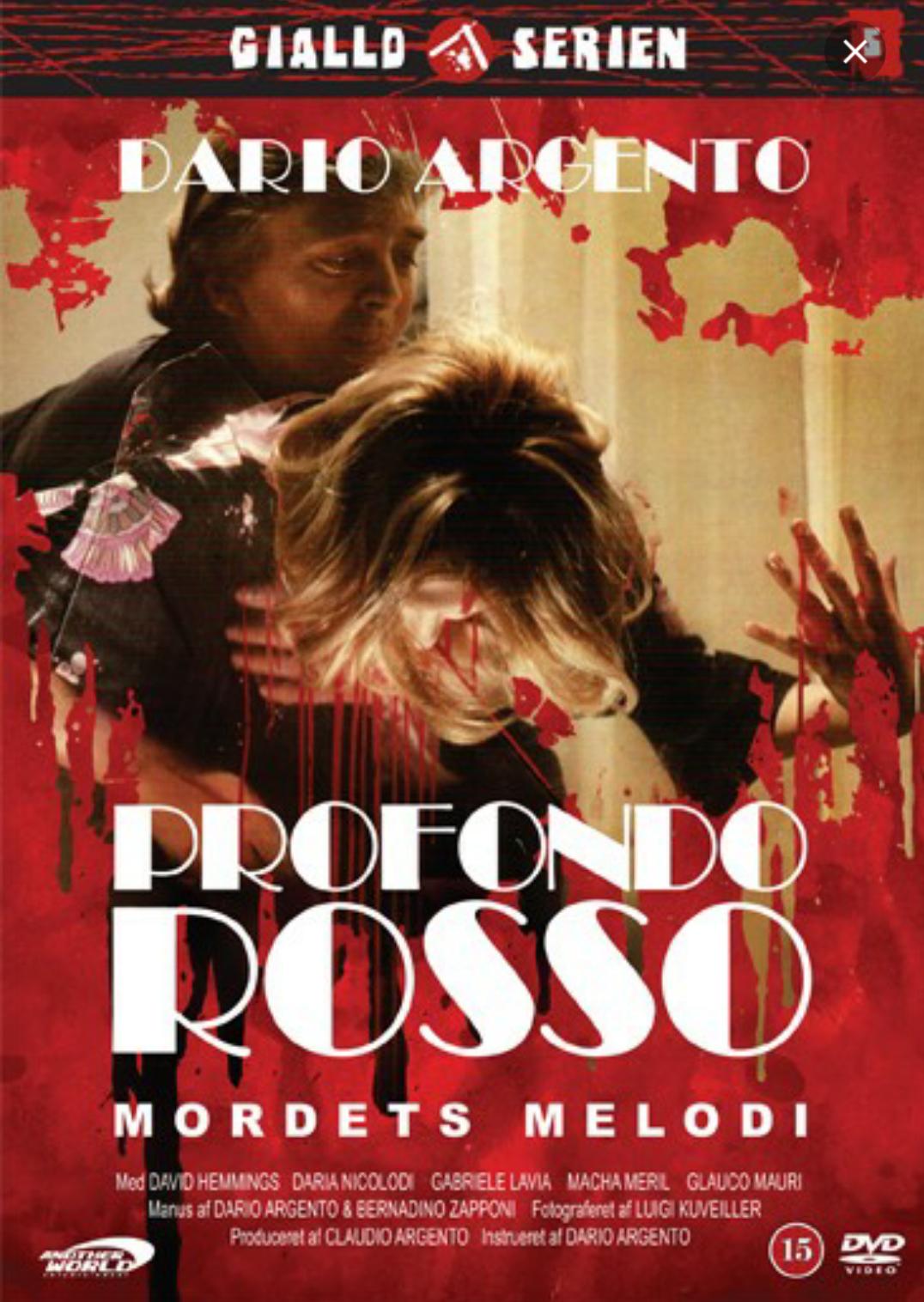 Profondo Rosso - Poster