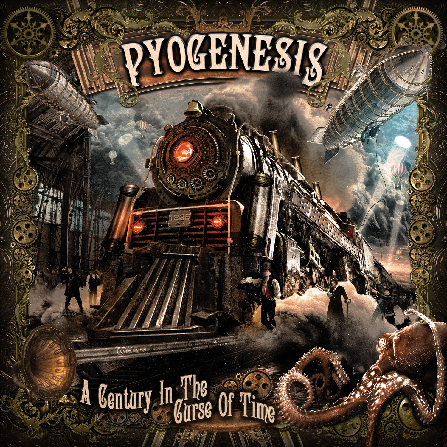 "Pyogenesis - ""A Century In The Curse Of Time"" Cover"