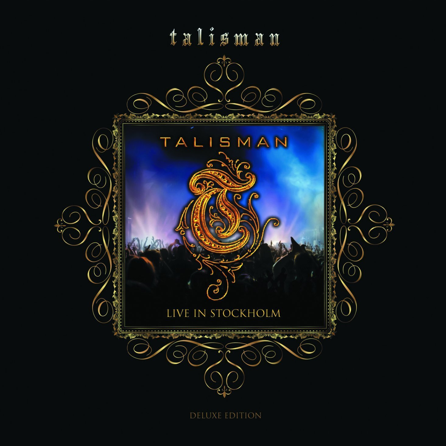 """Talisman - """"Live In Stockholm"""" Cover"""