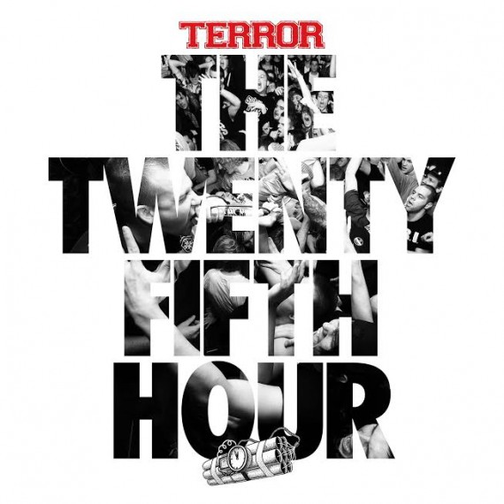 "Terror - ""The Twenty Fifth Hour"" Cover"