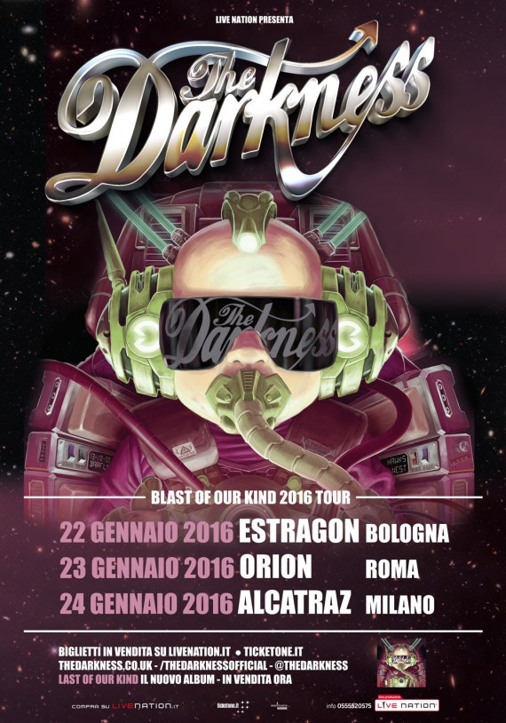 The Darkness - Blast Of Our Kind Tour 2016