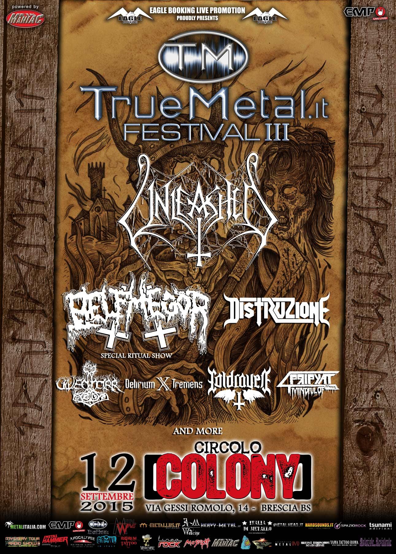 Truemetal Festival 2015 - Line Up Definitiva