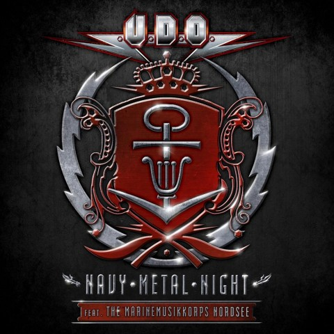 "U.D.O. - ""Navy Metal Night"" Cover"