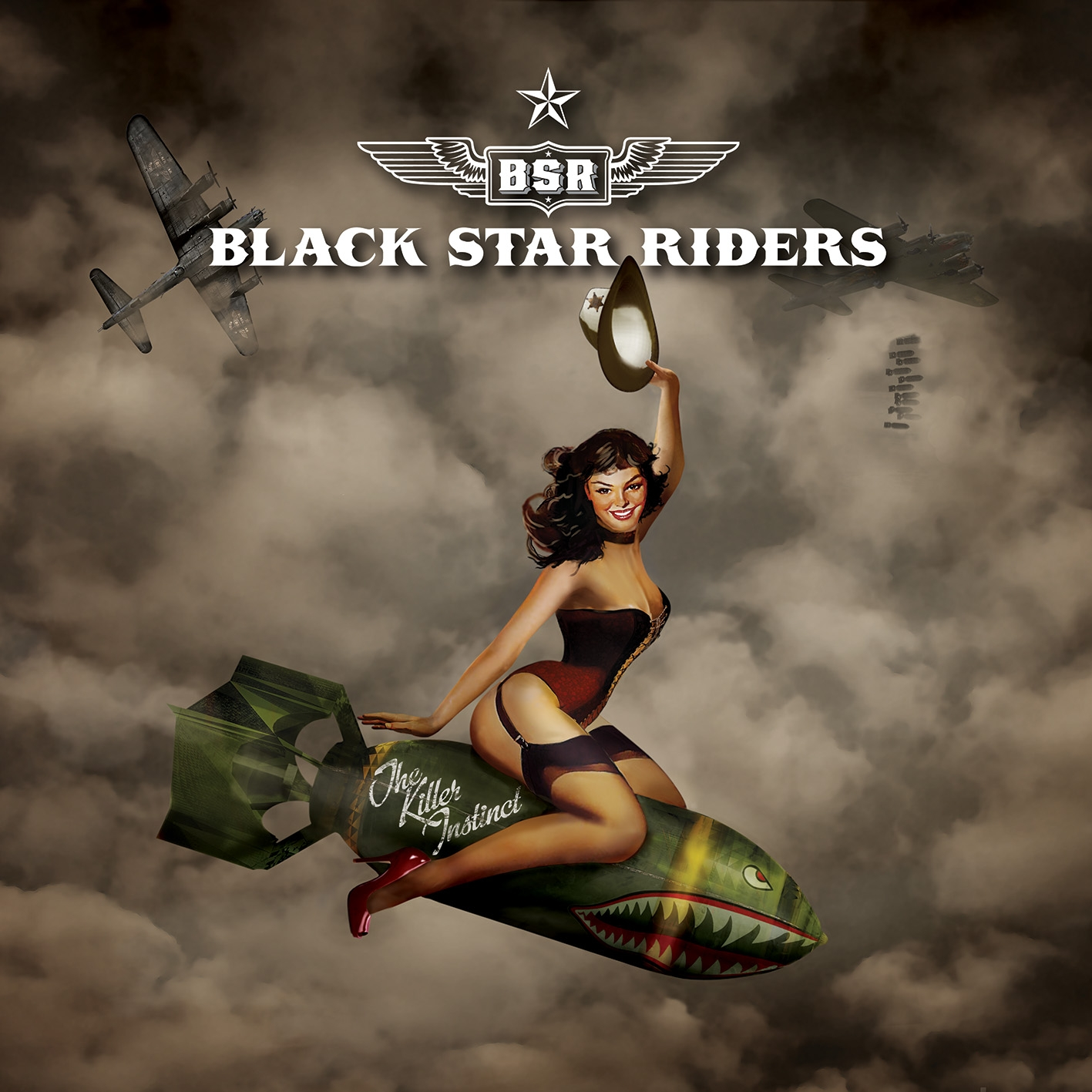 "Black Star Riders - ""The Killer Instinct"" Cover"