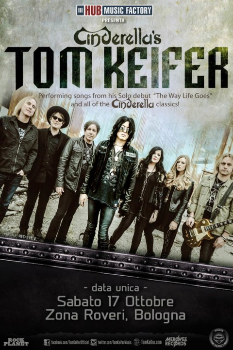 Cinderella's Tom Keifer Tour 2015