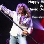 22 settembre 1951 - nasce David Coverdale