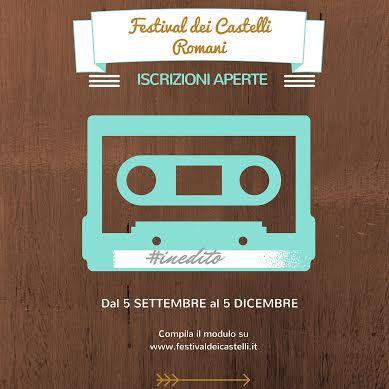 Festival Dei Castelli Romani 2016 - Iscrizioni Aperte