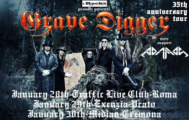 Grave Digger - 35th Anniversary Tour 2016