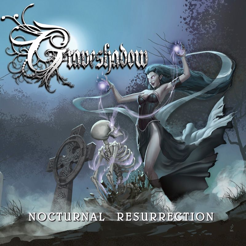 """Graveshadow - """"Nocturnal Resurrection"""" Cover"""