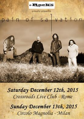 Pain Of Salvation in Italia - Tour 2015