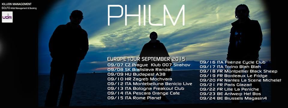 """Philm - """"Europe Tour 2015"""""""