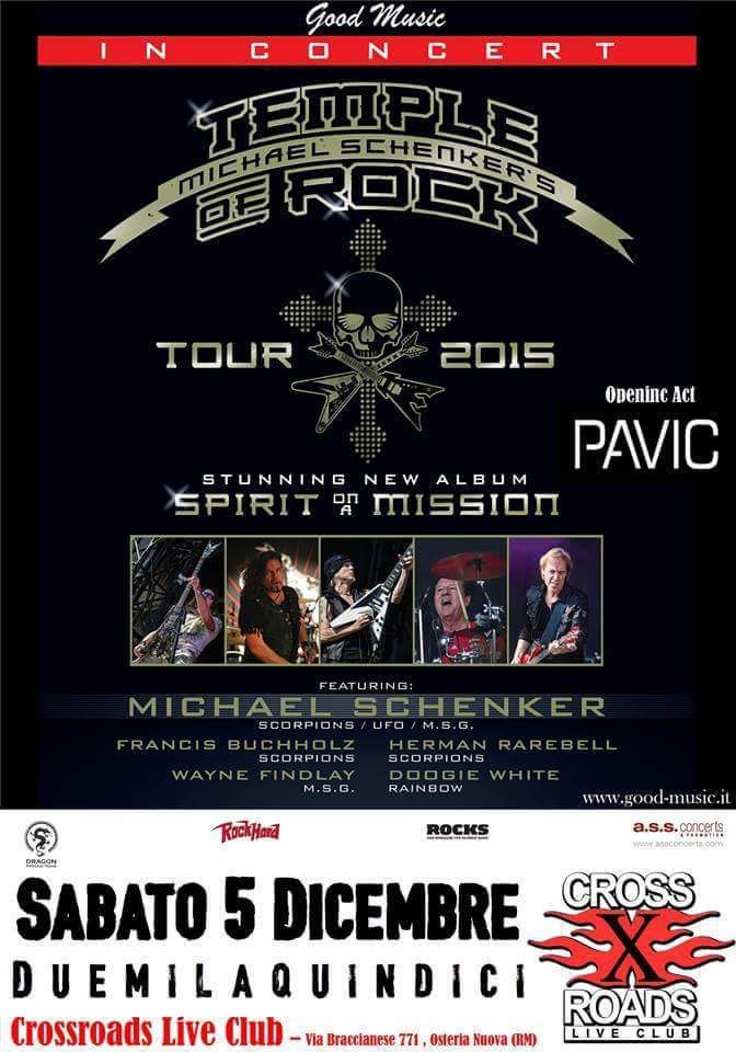 "Temple Of Rock - ""Tour 2015"""