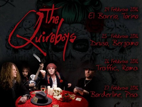 "The Quireboys - ""St Cecilia European"" Tour 2016"