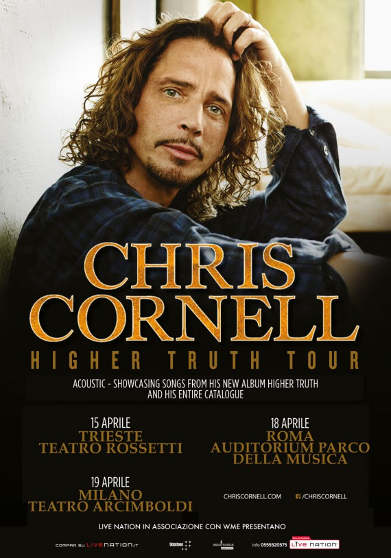 Chris Cornell - Higher Truth Tour 2016 Promo