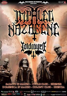 Impaled Nazarene - Tour 2016