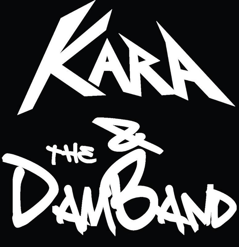 Kara and the Dam Band - Logo