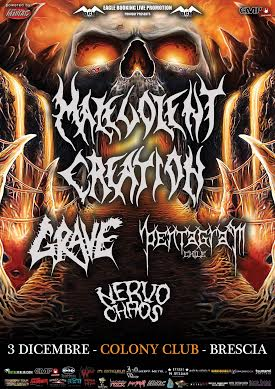 Malevolent Creation - Tour 2015