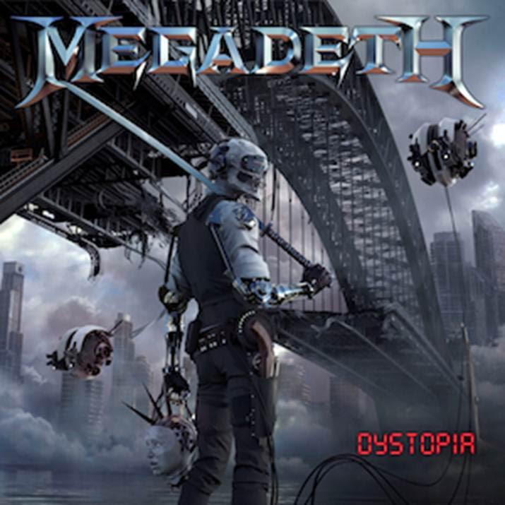 Megadeth - Dystopia - Album Cover