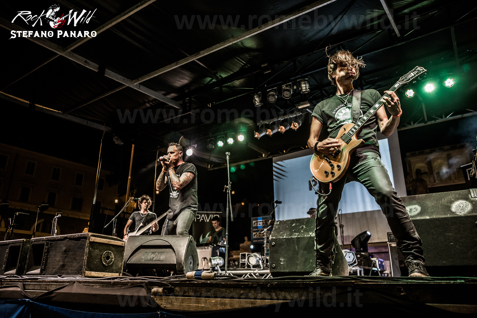 Pavic @ Animal Aid Live! - Piazza del Popolo - 19 09 2015