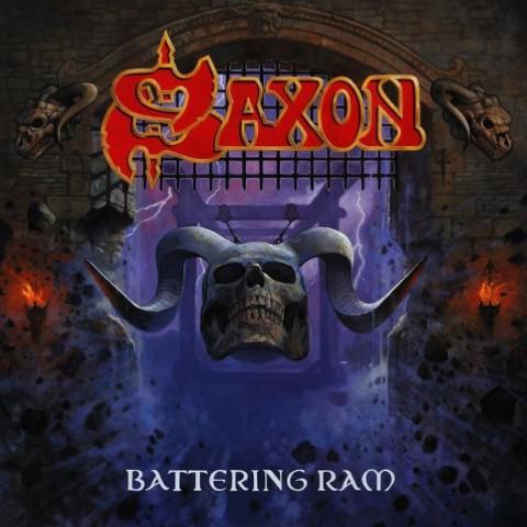 "Saxon - ""Battering Ram"" Cover"