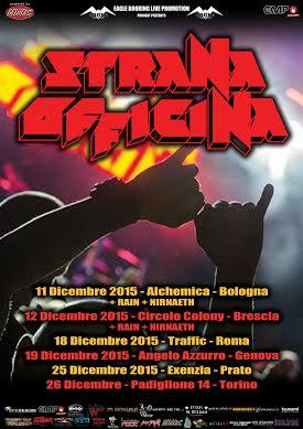Strana Officina in tour nel 2015