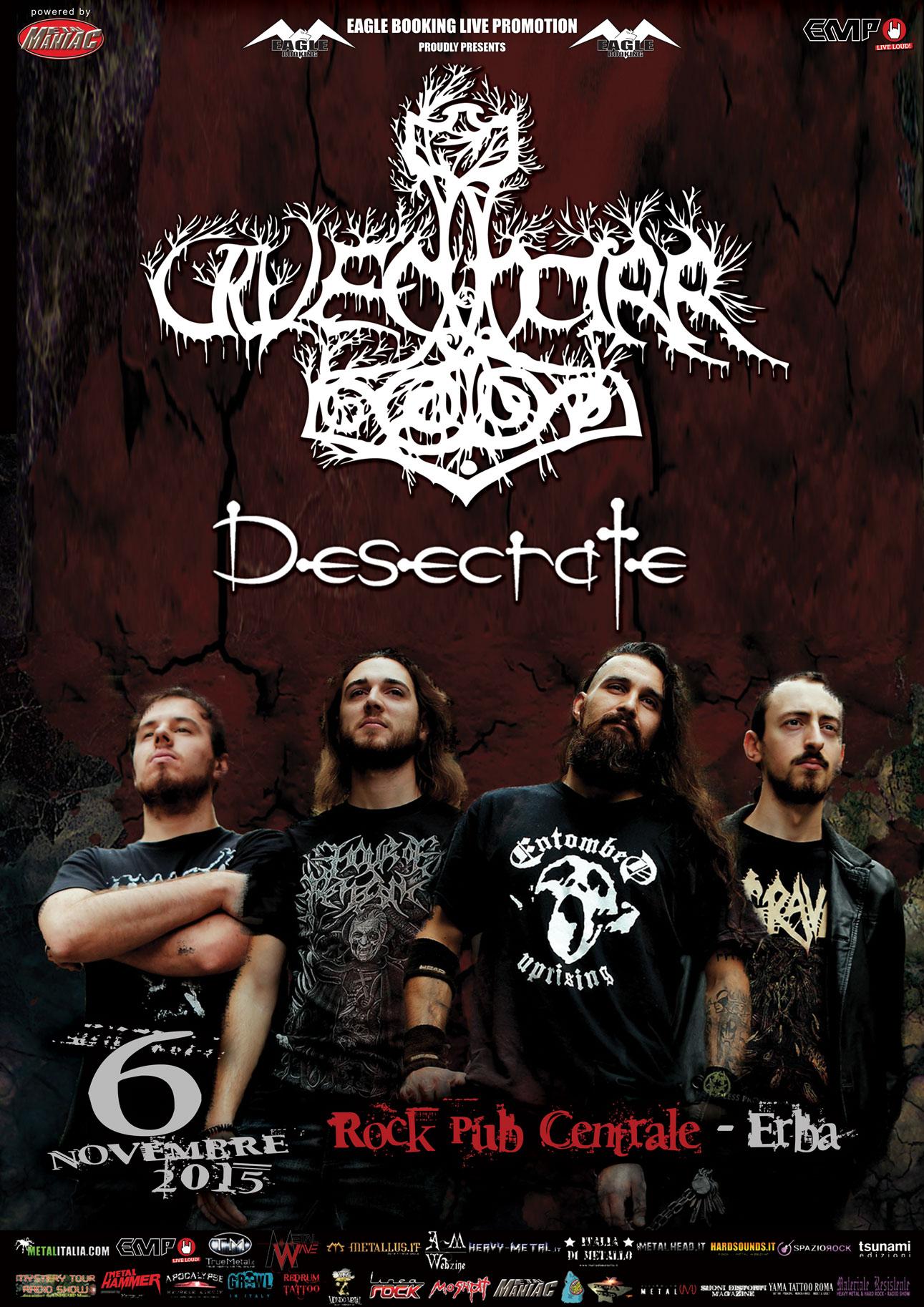 Ulvedharr + Desecrate Tour 2015