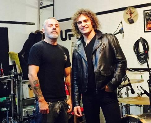 Alex Cole con Kappa Dario Cappanera