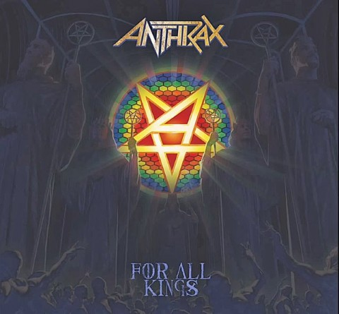 Anthrax - For All Kings - Album Cover