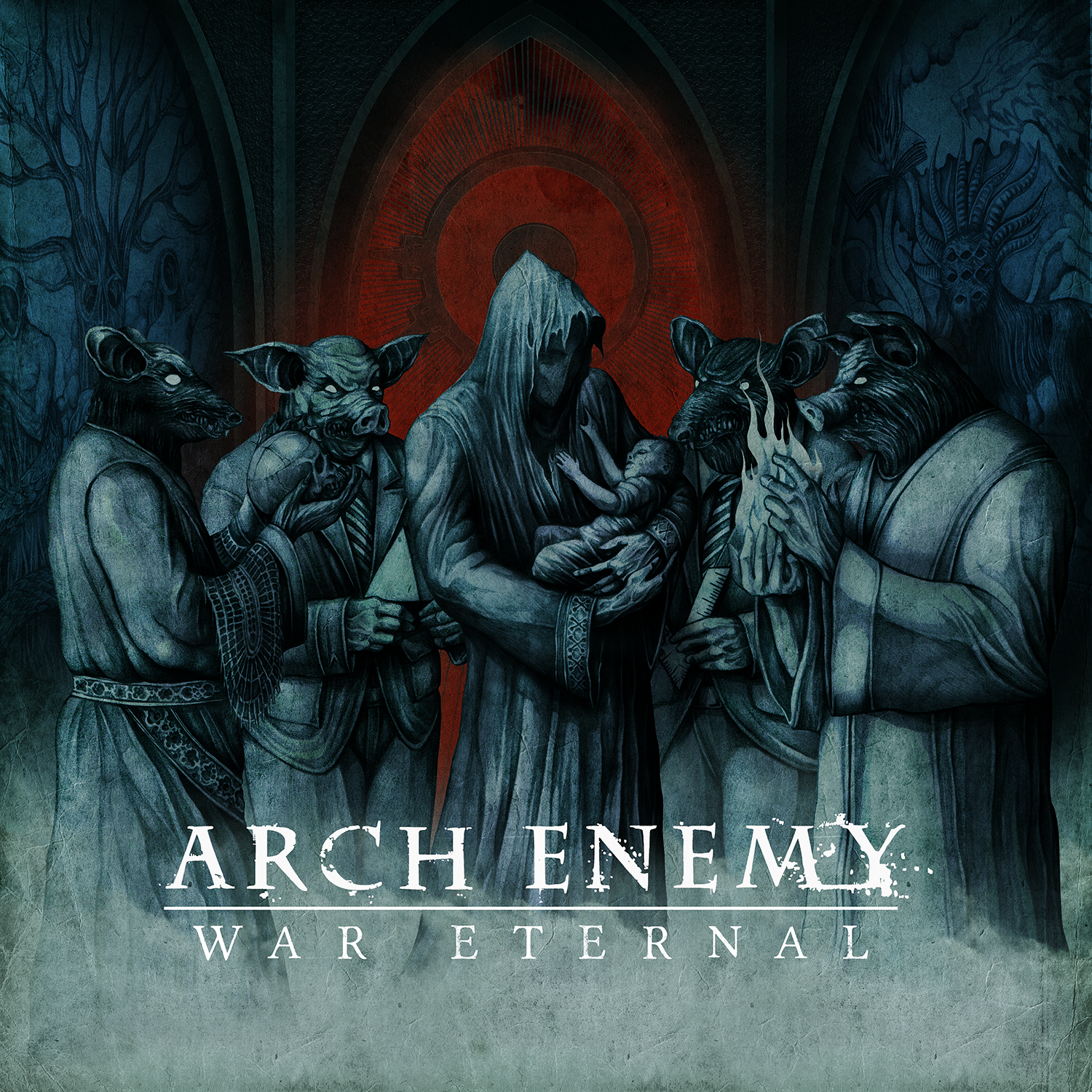"Arch Enemy - ""War Eternal"" Cover"