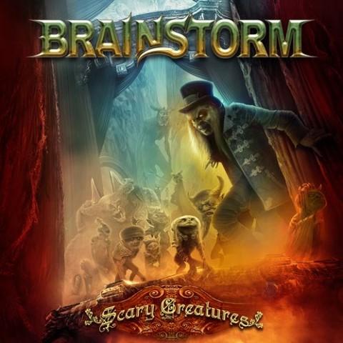 Brainstorm - Scary Creatures - Album Cover