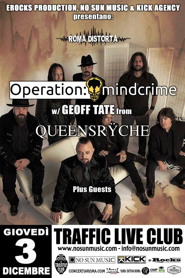Geoff Tate Operation: Mindcrime + guests @ Traffic - 03 12 2015