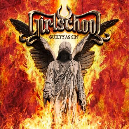 Girlschool - Guilty As Sin - Album Cover