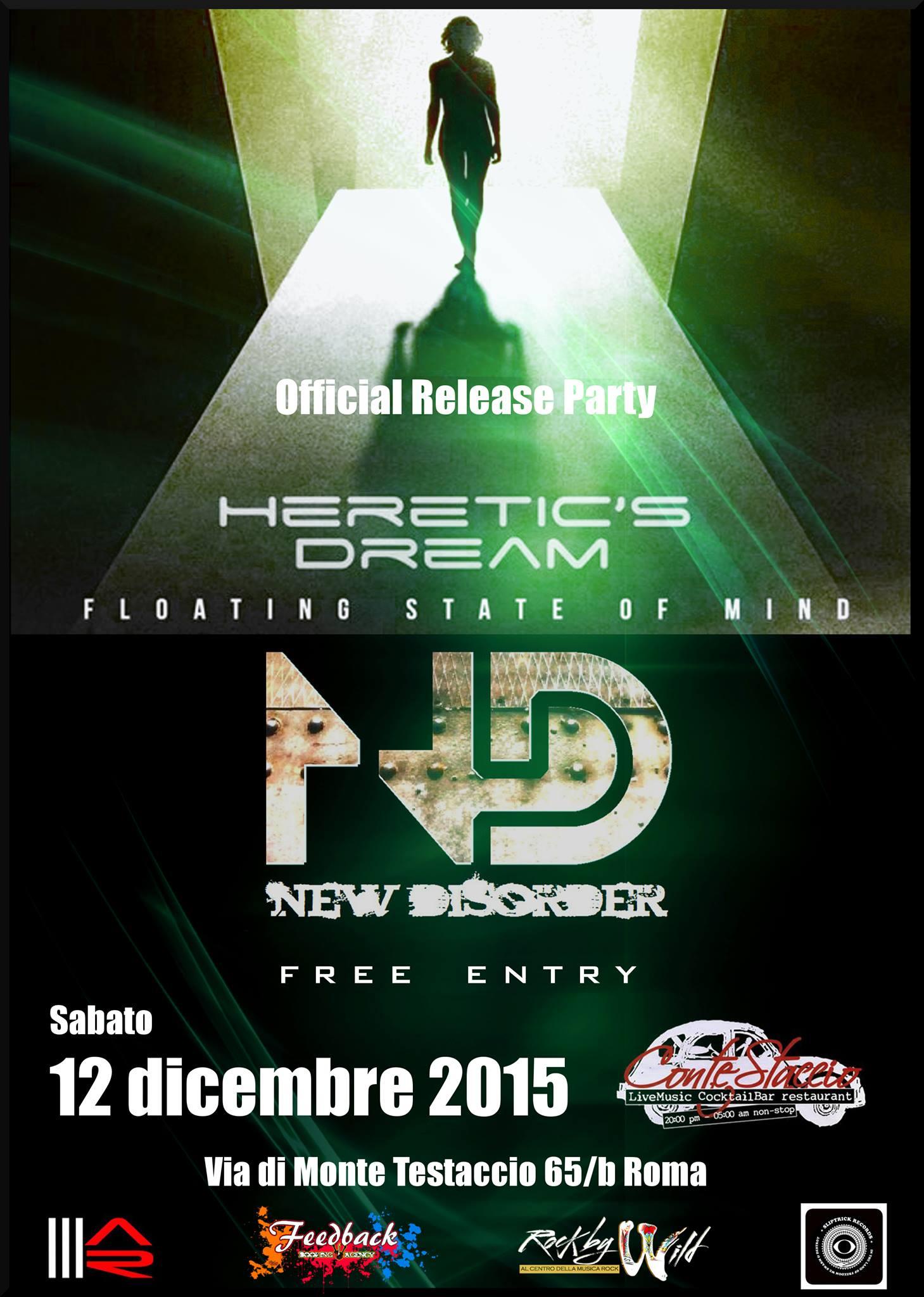 Heretic's Dream + New Disorder @ Contestaccio - 12 12 2015
