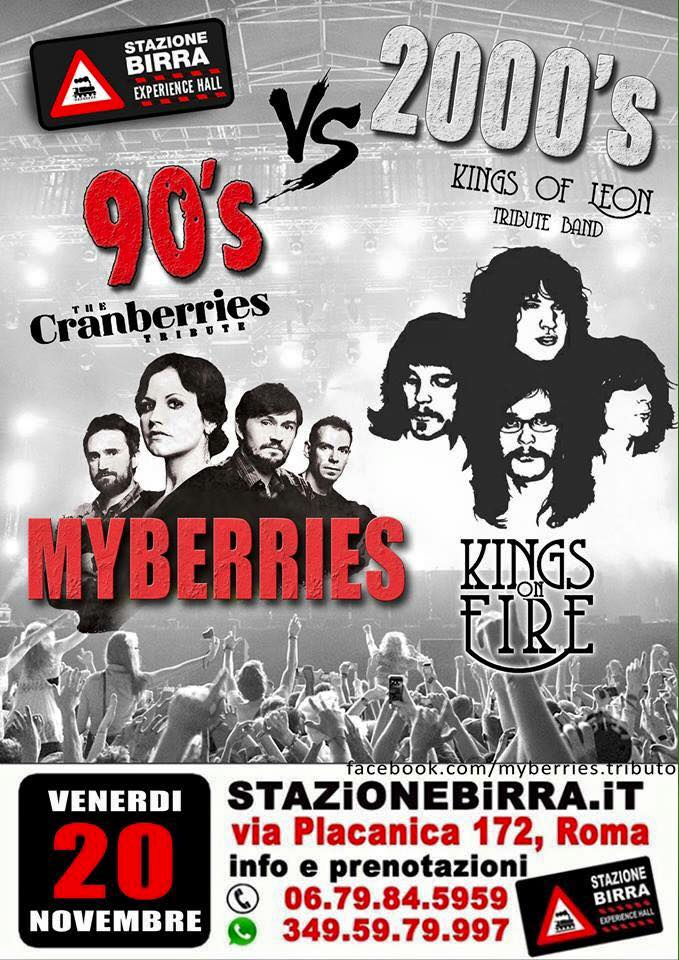 Myberries + Kings On Fire @ Stazione Birra - 20 11 2015