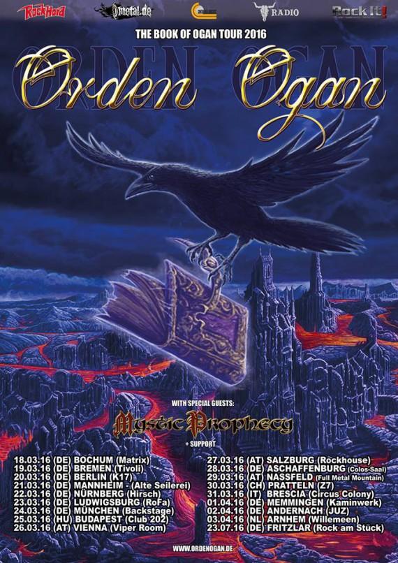 "Orden Ogan - ""The Book Of Ogan Tour"" 2016 Promo"