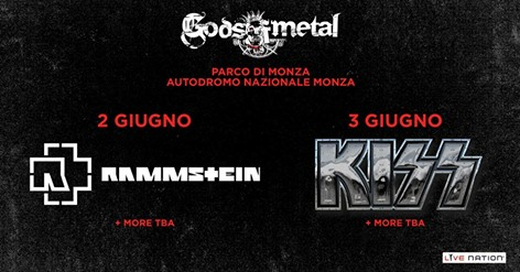 Rammstein + Kiss @ Gods Of Metal 2016 Promo