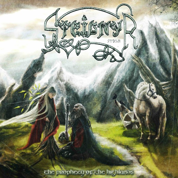 "Steignyr - ""The Prophecy of the Highlands"" Cover"