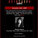 Steven Isham | 30 novembre 1952 - 9 dicembre 2008