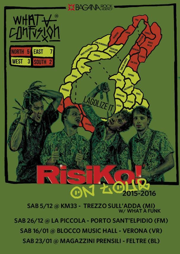 What A Confusion - Risiko On Tour 2016 Promo