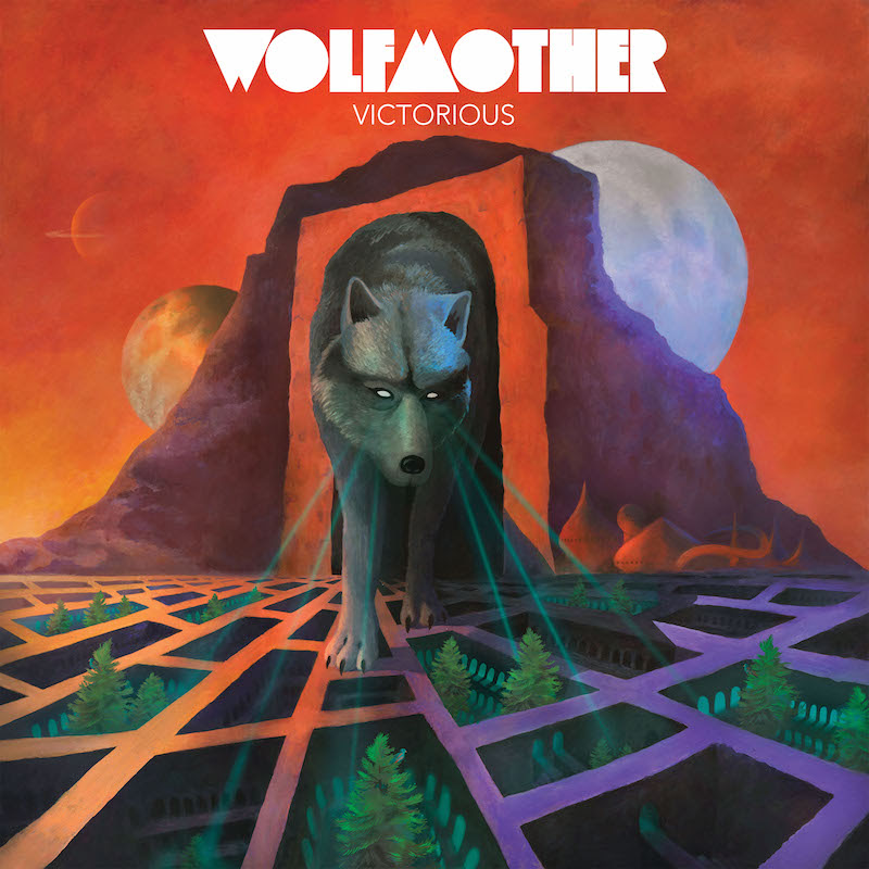 Wolfmother - Victorious - Album Cover