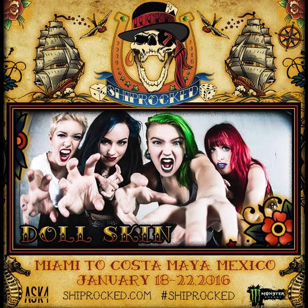 Doll Skin Confirmed For ShipRocked Cruise 2016