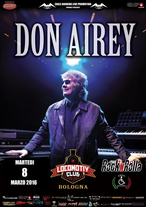 "Don Airey - ""Locomotiv Club"" 2016 Promo"
