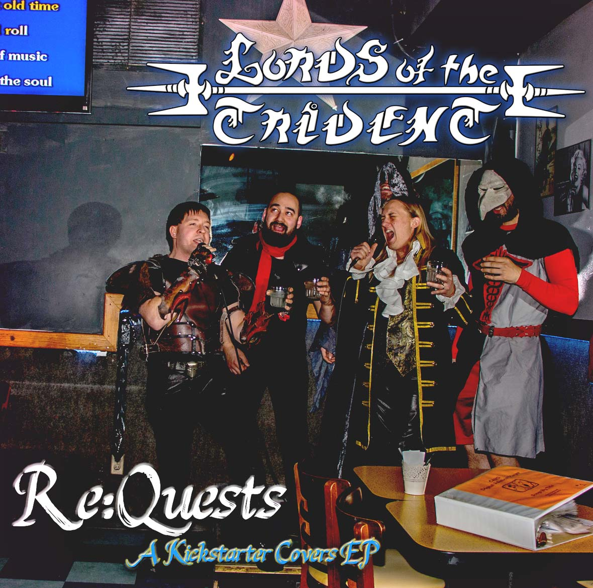 Lords Of The Trident - Re:Quests Cover